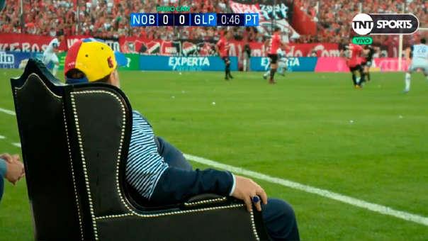 El trono del rey: Maradona y el sitio especial que tiene en Gimnasia y Esgrima