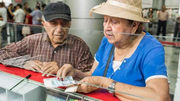 El Ministerio de Economía y Finanzas elevó hasta de S/415 a S/500 la base de estas pensiones.