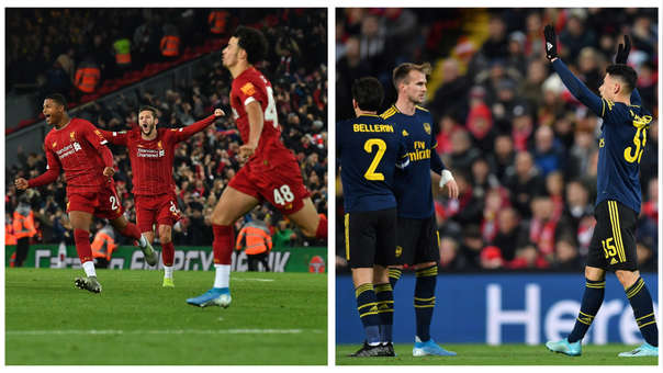 ¡Catarata de goles! Revive el emocionante encuentro del Liverpool 5-5 Arsenal por la Copa de Inglaterra