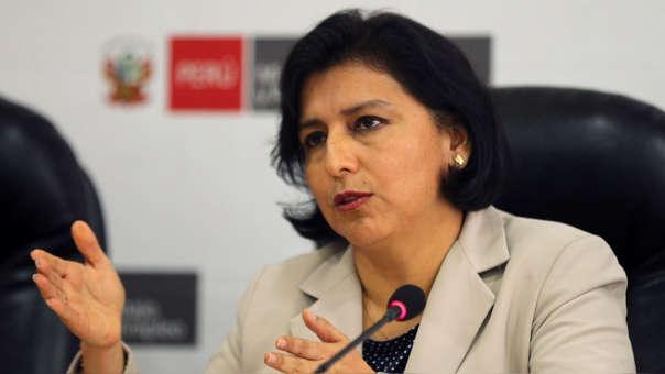 La ministra Sylvia Cáceres dijo que se fortalecerá el sistema de inspección del trabajo.
