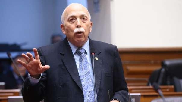 Carlos Tubino fue vocero de Fuerza Popular.