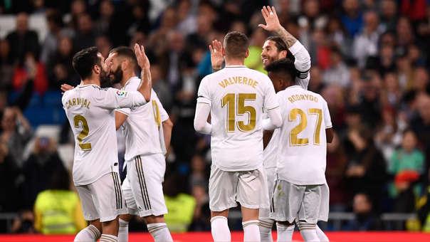 Real Madrid vs. Leganés EN VIVO: merengues ganan 3-0 por la fecha 11 de LaLiga en el estadio Santiago Bernabéu