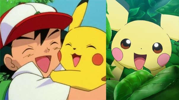 Pikachu, Ash y Pichu