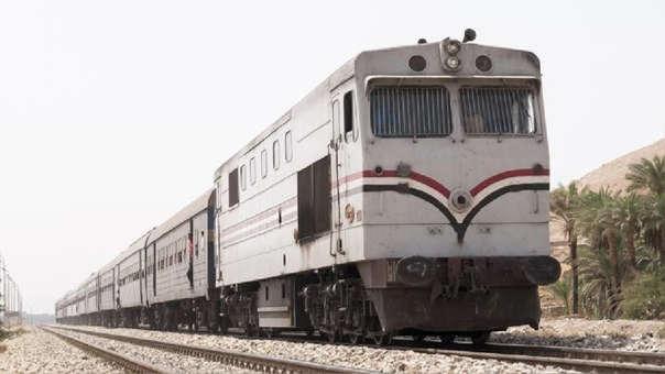 El tren cubría la tura entre Alejandría y Luxor, dos lugares turísticos por sus vínculos con el Antiguo Egipto.