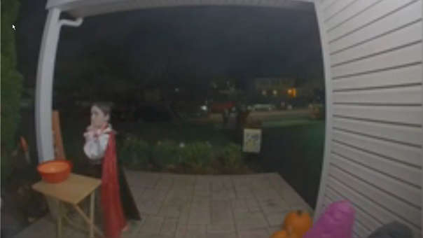 Niño en Halloween