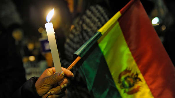 BOLIVIA-ELECTION-RESULTS-PROTEST-VIGIL