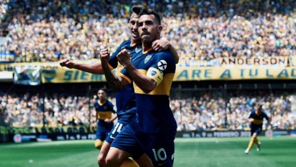 Así fue la goleada de Boca Juniors ante Arsenal por la Súperliga Argentina