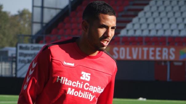 Sergio Peña dentro del once ideal de la fecha 12 de la Eredivisie