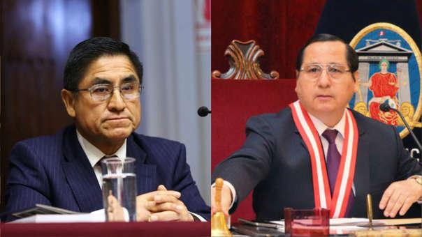 En el audio, César Hinostroza y Hugo Núñez habla sobre una reunión por el aniversario del Sistema Anticorrupción.