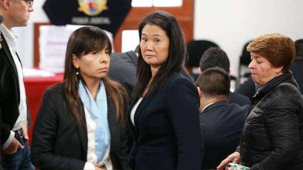 Keiko Fujimori cumple una prisión preventiva de 36 meses desde el 31 de octubre de 2018.
