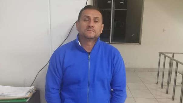 Carlos Esteban Sarmiento Zapana fue enviado a prisión preventiva.