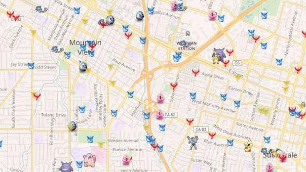 Mapa Gimnasios Pokemon Go.Pokemon Go Los Mejores Rastreadores De Mapas Legales Que