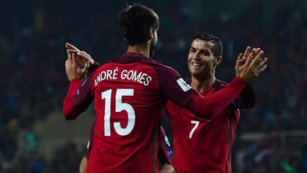 ¡Volverás más fuerte!: el mensaje de Cristiano Ronaldo a André Gomes luego de su fuerte lesión
