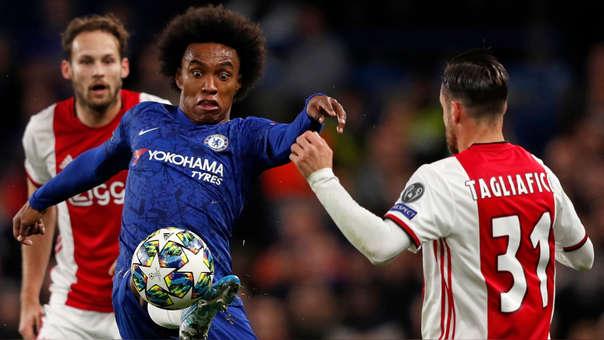 ¡Catarata de goles! Chelsea igualó 4-4 ante Ajax por el grupo H de la Champions League