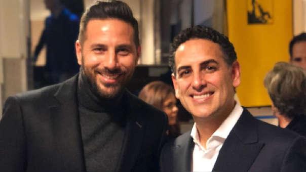Juan Diego Flórez y Claudio Pizarro se encontraron durante un concierto del tenor en la ciudad de Bremen
