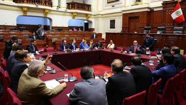 La Comisión Permanente volvió a sesionar este martes.
