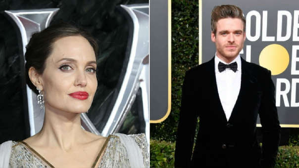 Angelina Jolie y Richard Madden