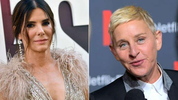 Ellen DeGeneres y Sandra Bullock