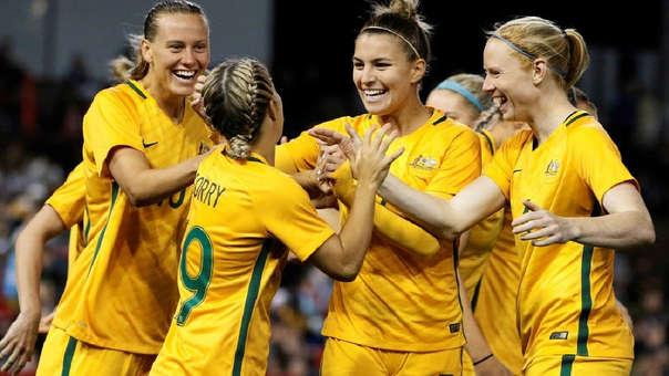 Selección de Australia.