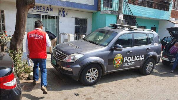 El general PNP Víctor Rucoba realizó una visita inopinada a la comisaría de Zárate (SJL) este jueves.