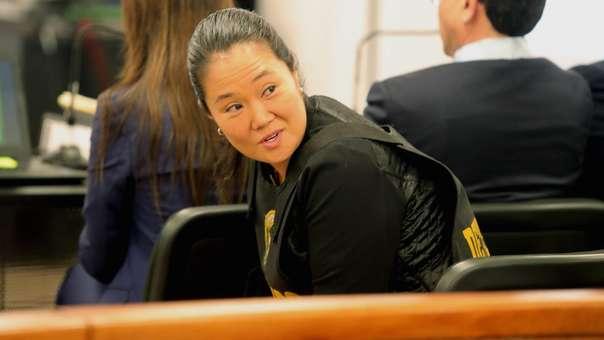 Keiko Fujimori se encuentra con prisión preventiva por el caso Odebrecht.