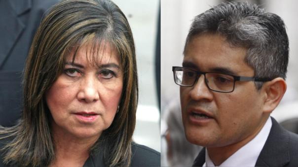 Martha Chávez y José Domingo Pérez