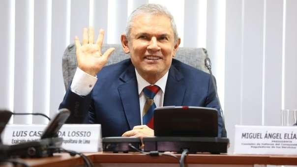 Luis Castañeda es investigado por presuntos aportes de Odebrecht.