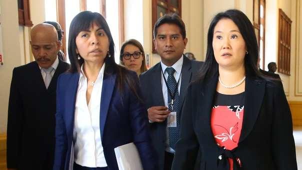 Giulliana Loza es abogada de Keiko Fujimori.