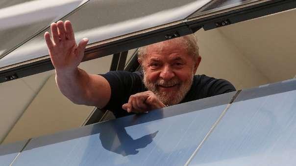 Lula da Silva, expresidente de Brasil.