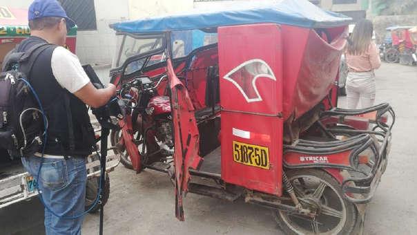 Mototaxi de Alexander Hurtado Torres