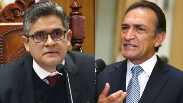 José Domingo Pérez y Héctor Becerril