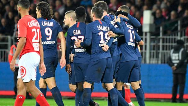 PSG vs. Brest EN VIVO: igualan 0-0 por la fecha 13 de la Ligue 1