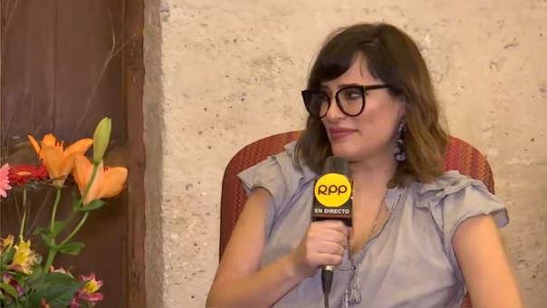 Pola Oloixarac en el Hay Festival Arequipa 2019