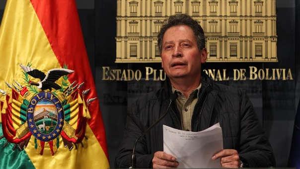 BOLIVIA MINISTRO