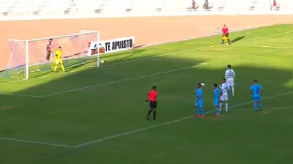 Adrián Ugarriza falló el segundo penal para Alianza Lima ante Binacional por el Torneo Clausura