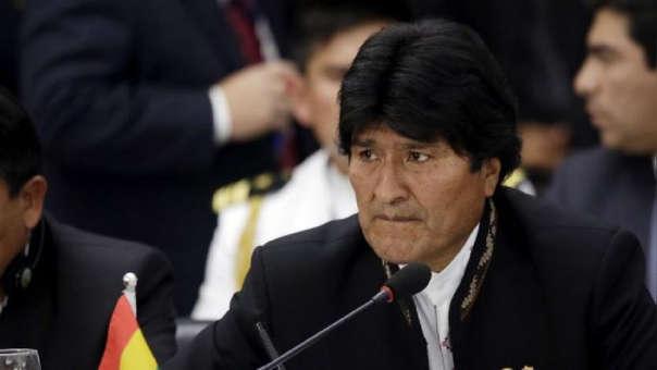 Morales estuvo en el poder durante 14 años.