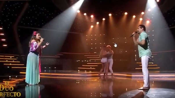 La dupla conformada por Miguel Álvarez y Vernis Hernández se lucieron en la pista con los temas de Juan Luis Guerra