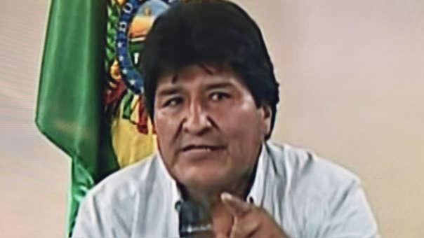 Morales renunció a la presidencia a través de un video difundido por la televisión pública de Bolivia