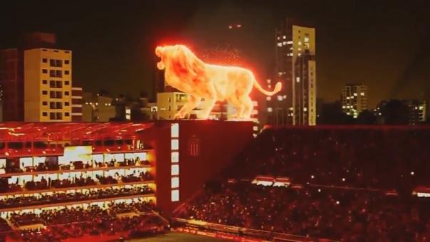 León de fuego