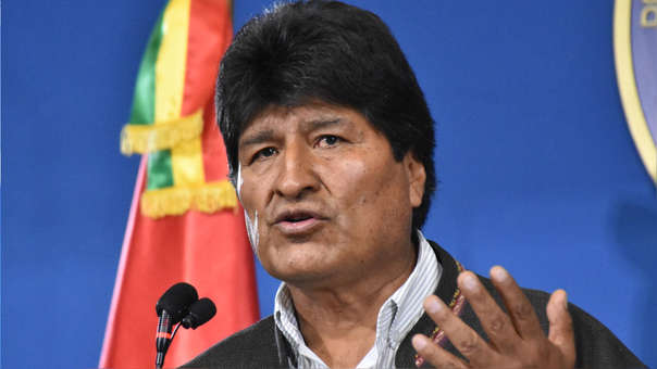 BOLIVIA-CRISIS-ELECTION-RESULT-MORALES
