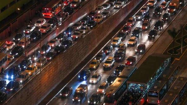 El tráfico se generó en al menos cuatro distritos de Lima. (Imagen referencial)