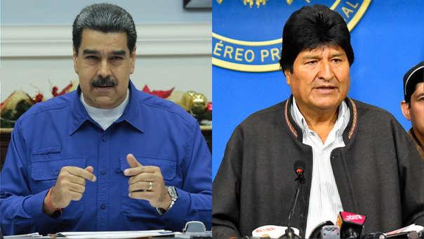 Nicolás Maduro apoyó a Evo Morales en las elecciones presidenciales en Bolivia y había expresado su rechazo contra la oposición de derecha.