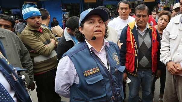 Susel Paredes, gerente de fiscalización de La Victoria.