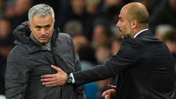 La fuerte crítica de Mourinho a Pep Guardiola tras la derrota de Manchester City ante Liverpool