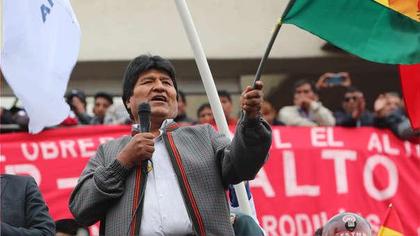BOLIVIA ELECCIONES EVO MORALES