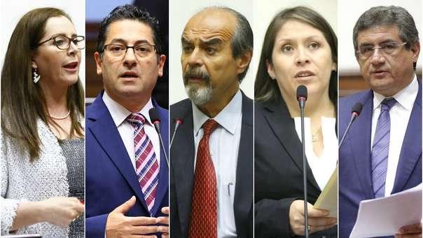 Algunos congresistas han anunciado que buscarán completar el periodo.