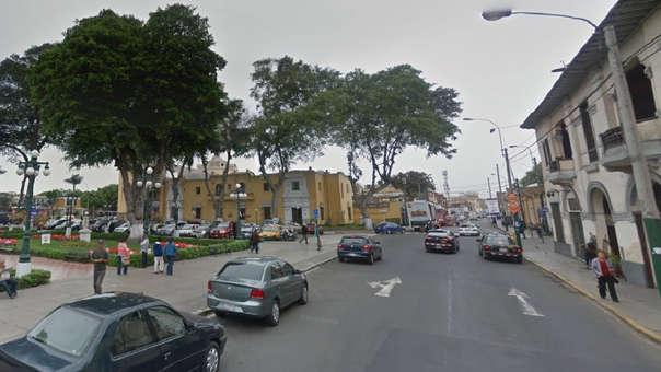Avenida Miguel Grau en Barranco