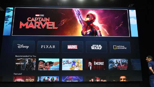 Disney da arranque a su propia plataforma de streaming.