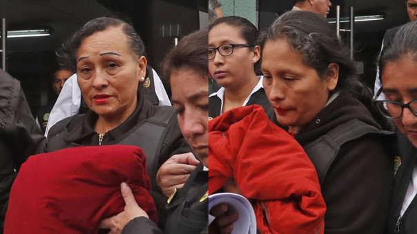 Madre y hermana de Gerald Oropeza