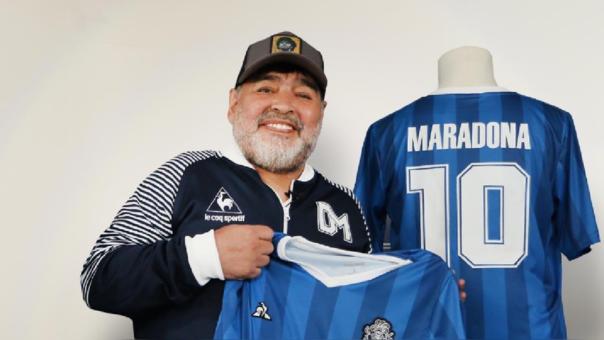 Apareció la supuesta sexta hija de Diego Maradona: